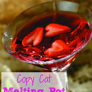 Copy Cat Melting Pot Love Martini.