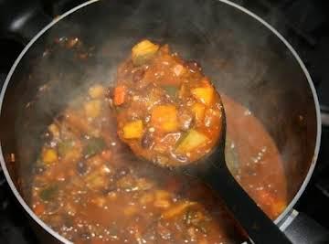 Royito's Harvest Veggie Chili Recipe