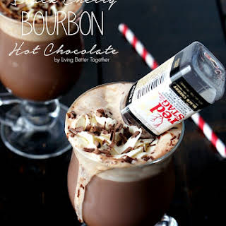 Black Cherry Bourbon Hot Chocolate.