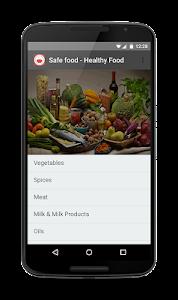 Safe food - Healthy food screenshot 0