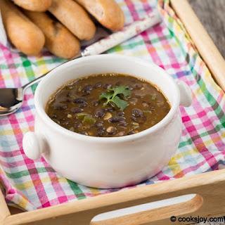 Black Beans Soup Recipe