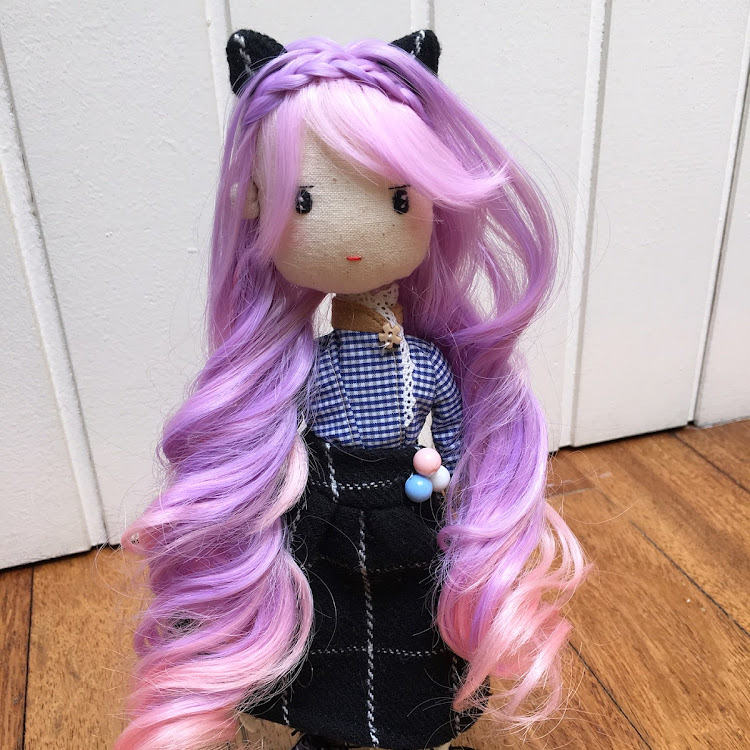 Handmade Doll -Kitty Lady by Itcheehand Enterprise