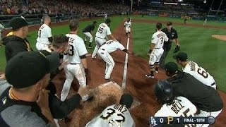 One and done: Harrison's walk-off HR ends no-no