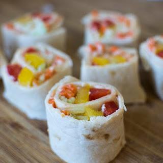 Sweet Chili Veggie Roll Ups