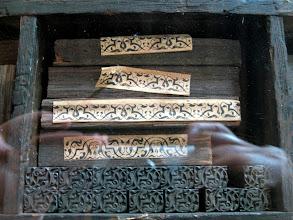 Photo: Pieces for decorative edging.
