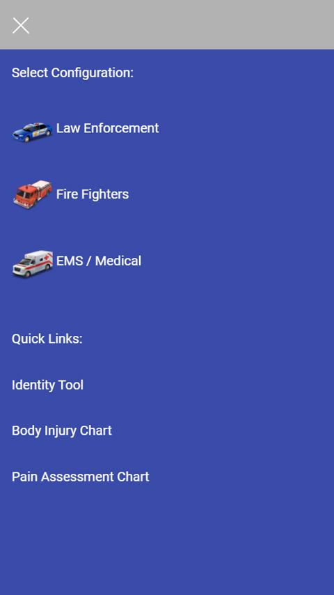 Autism Talk- Communication Tool For 1st Responders- screenshot
