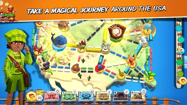 Ticket to Ride: First Journey - screenshot