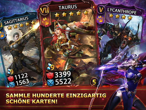 Deck Heroes: Duell der Helden apkmr screenshots 2