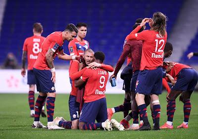 Le LOSC renverse complètement Lyon et garde la tête en Ligue 1 !