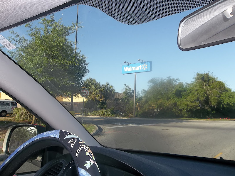 Photo: Ahhhhh look at that sign... Wally World here we come....