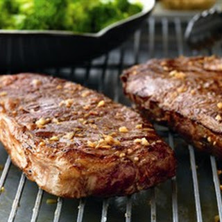 Beef Steaks with Sweet-Soy Drizzle.
