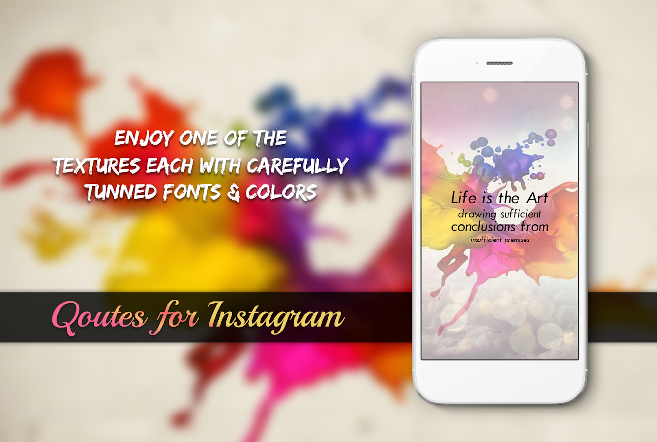 Instagram Quote Maker Quotes For Instagram  Android Apps On Google Play