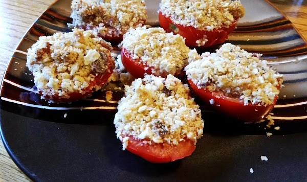 Roma Tomatoes Stuffed (my Way) Recipe