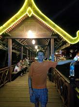 Photo: Bridge to the night market.