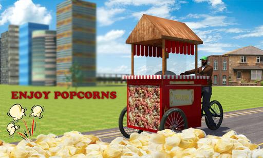 Popcorn Hawker 3d Simulation