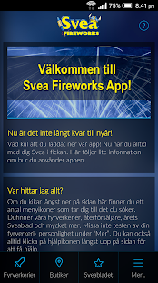Svea Fireworks Officiella APP- screenshot thumbnail