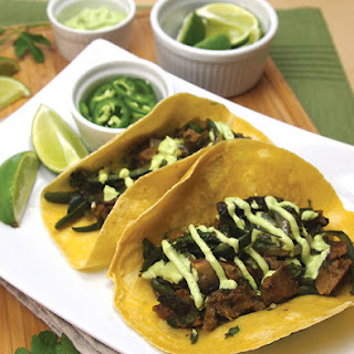 Seitan Chimichurri Tacos from Dianne Wenz's What's For Dinner?.