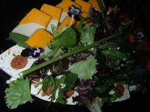 Photo: Terrine de légumes, sauce légère au citron
