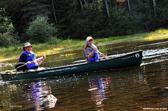 Photo: Paddling the wild is great exercise