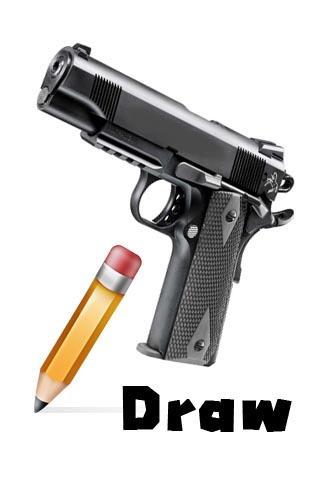 How To Draw Gun