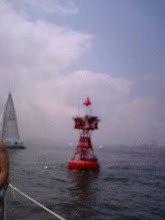 Photo: 沖の根ブイを回航