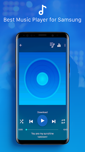 Galaxy Player - Music Player for Galaxy S10 Plus 5.2 screenshots 1