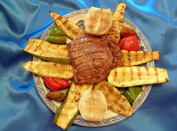 Grilled Steak And Veggies Recipe