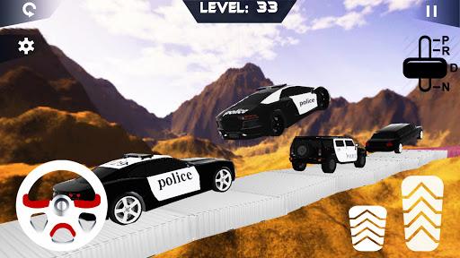 Police Jeep Stunts On Impossible Tracks image | 20