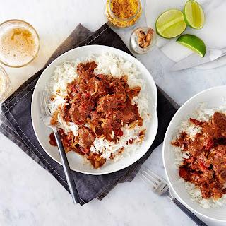 Caribbean-style Lamb Curry.