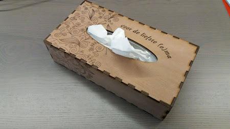 Kistjes en doosjes - tissuebox moederdag