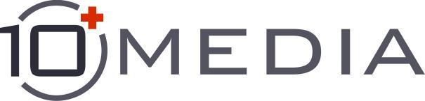 10 Plus Media logo