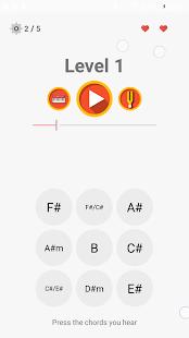 ChordProg Ear Trainer - náhled