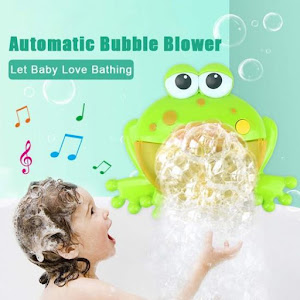 Jucarie muzicala pentru baloane si spuma de baie