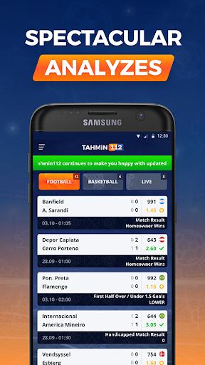 Tahmin112 - Betting Tips 3.2 screenshots 1