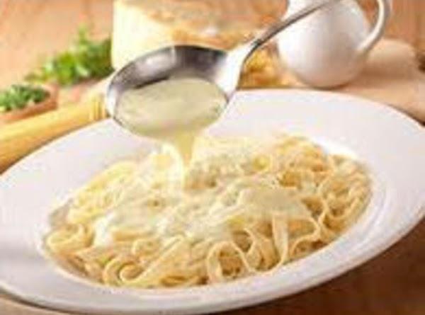 Olive Garden Alfredo Sauce - Light Version Recipe