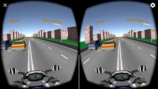 VR Traffic Rider screenshot