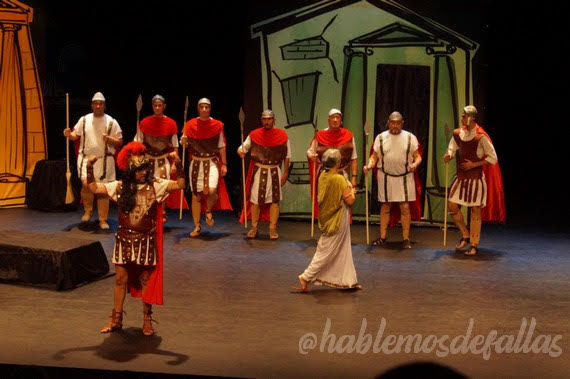 Golfus de Roma. #TeatreFaller