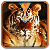 3D Tiger Zipper UnLock