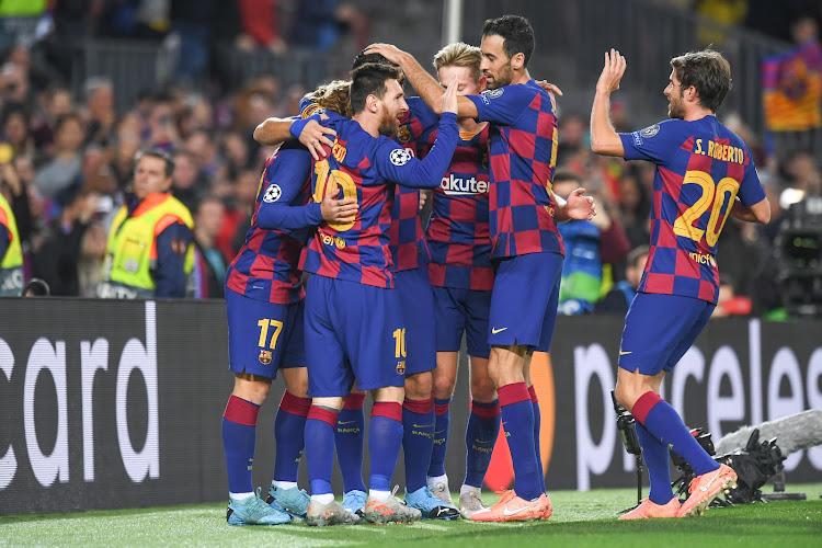 L'Espagne indignée par le comportement des joueurs du Barça !