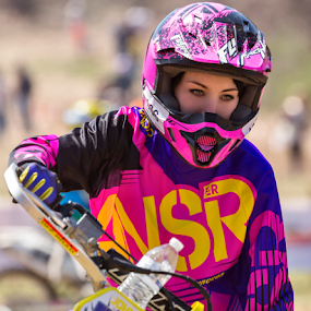 Pretty in Pink... by David Lawrence - Sports & Fitness Motorsports ( midwestxc, pink, parkers paradise )