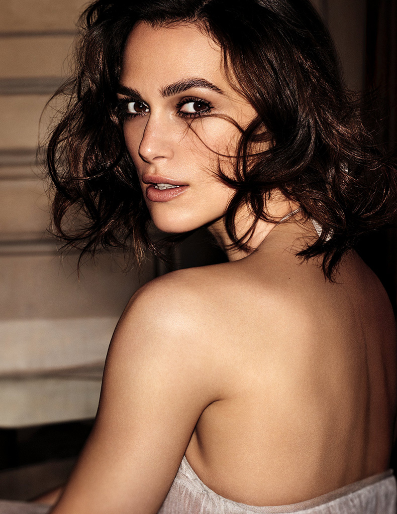 Keira Knightley the face of Coco Mademoiselle