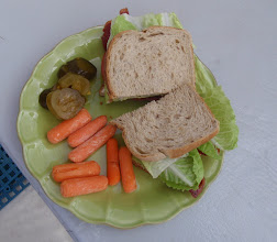 Photo: BLT lunch somewhere on the Sea of Abaco