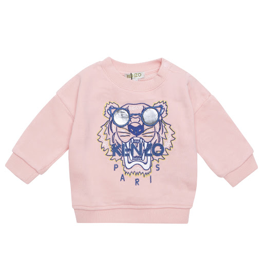 Primary image of Kenzo Kids Pink Baby Tiger Sweatshirt