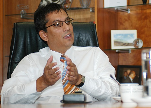 Sekunjalo Investment Holdings CEO Iqbal Survé. Picture: TREVOR SAMSON