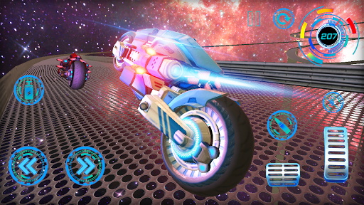 Space Bike Galaxy Race 1.0.2 screenshots 4