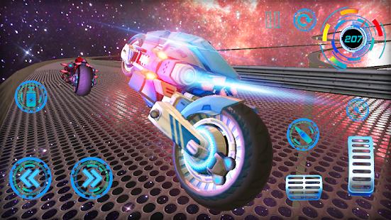 Space Bike Galaxy Race- screenshot thumbnail