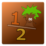 Math Game: Fractions Icon
