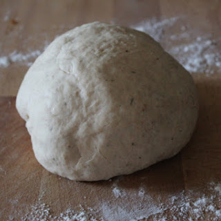 Homemade Thin and Crispy Pizza Dough with Step by Step Pictures