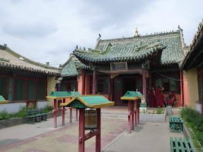 Photo: Budhistický chrám Geser v Ulanbátaru