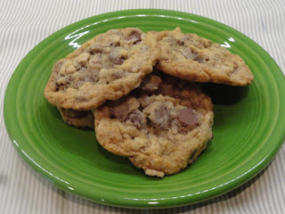 Chocolate Chip Toffee Oatmeal Kahlua Cookies Recipe